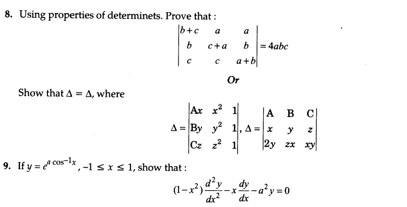 CBSE Sample Papers for Class 12 Maths Solved 2016 Set 10-4