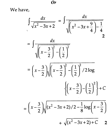 CBSE Sample Papers for Class 12 Maths Solved 2016 Set 4-32