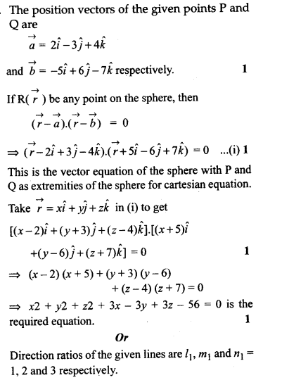 CBSE Sample Papers for Class 12 Maths Solved 2016 Set 3-39