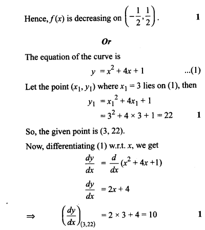 CBSE Sample Papers for Class 12 Maths Solved 2016 Set 3-28