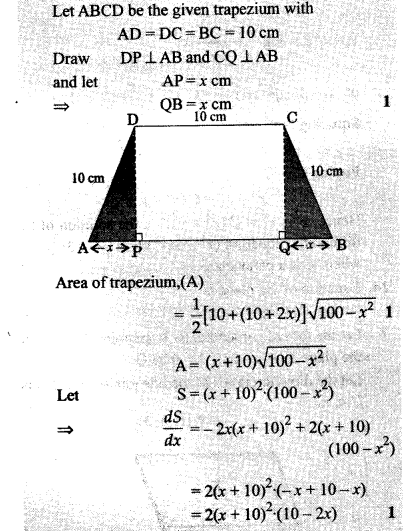 CBSE Sample Papers for Class 12 Maths Solved 2016 Set 3-54