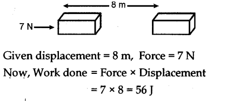 NCERT Solutions for Class 9 Science work power and energy page 148