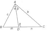 CBSE Class 11 Maths Notes Solution of Triangles, Heights and Distances